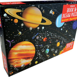 Solar System - Book & Jigsaw Puzzle
