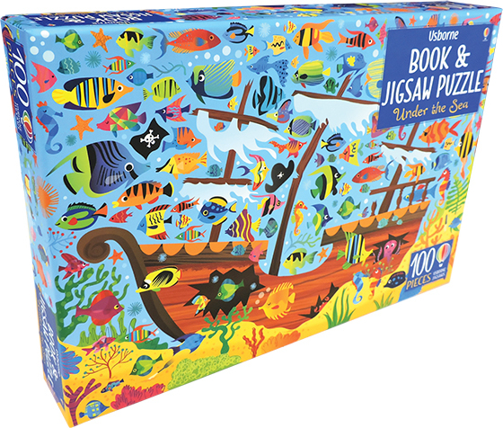 Under The Sea - Book & Jigsaw Puzzle