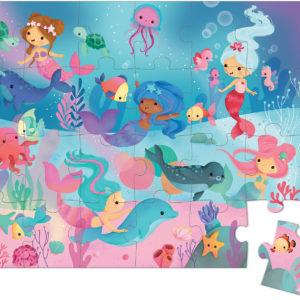 Puzzle Mermaids 24 Pcs