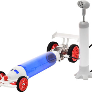 PlaySTEAM Atmospheric Turbo Racecar Air Pressure Learning Kit
