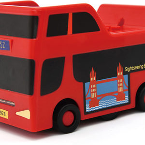 PlaySTEAM Line Tracking Sightseeing Bus with Landmark Route