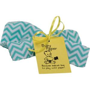 Baby Paper Zig Zag