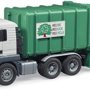 Rear Loading Garbage Truck