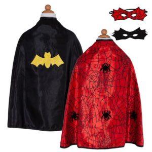 Reversible Spider:Bat Cape