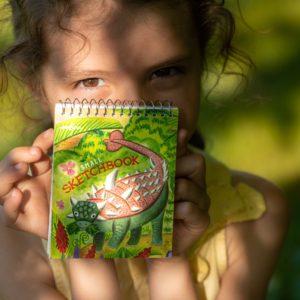 Small Sketchbook Dinosaur
