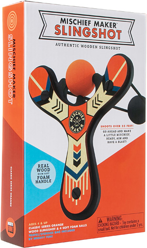 Mischief Maker Slingshot Classic Series - Orange