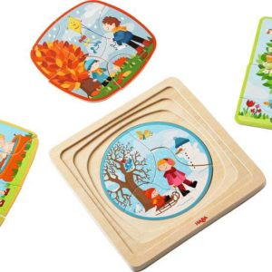 Wooden Puzzle My Time of Year