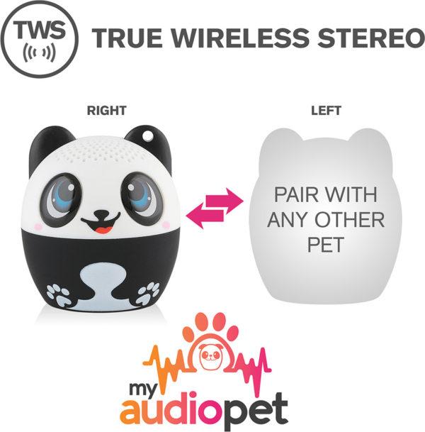 My Audio Pet - Pandamonium Panda Portable Bluetooth Speaker