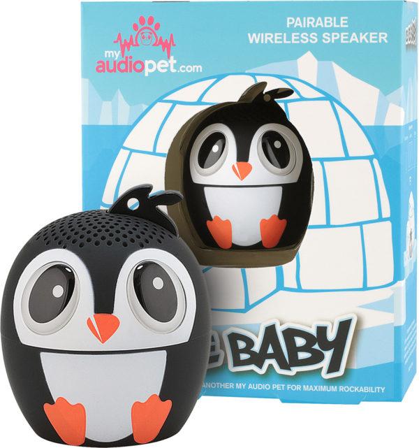 My Audio Pet - Ice Ice Baby Penguin Portable Bluetooth Speaker