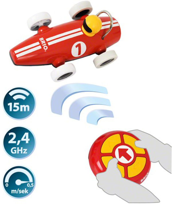 BRIO Remote Control Race Car