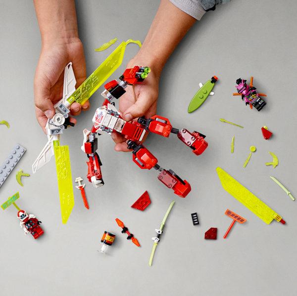 LEGO NINJAGO - Kai's Mech Jet