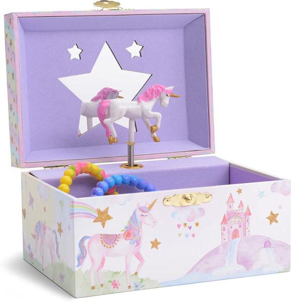 Party Unicorn Musical Jewelry Box