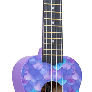 Amahi Ukulele - Purple Mermaid