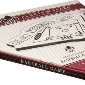 Across the Board Wooden Tabletop Baseball Game