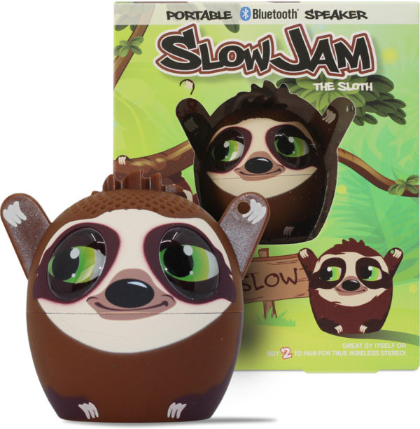 My Audio Pet - Slow Jam the Sloth Portable Bluetooth Speaker