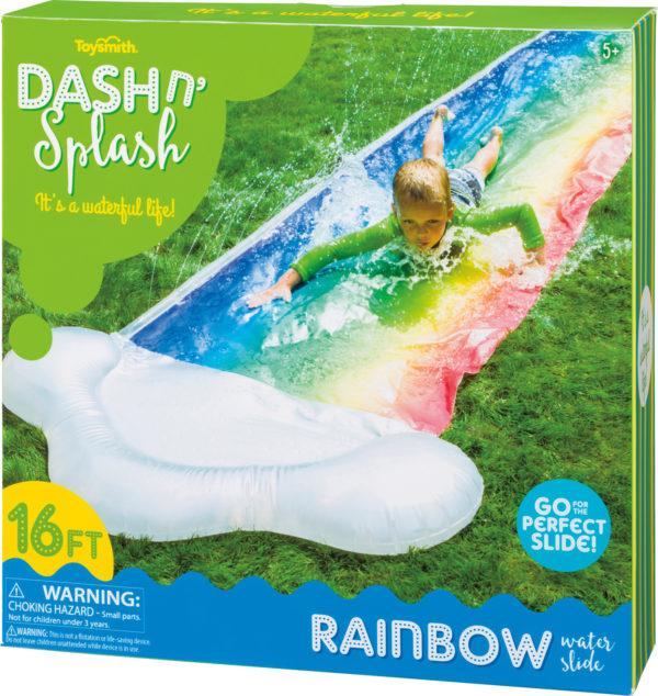 DASH N SPLASH RAINBOW SLIDE