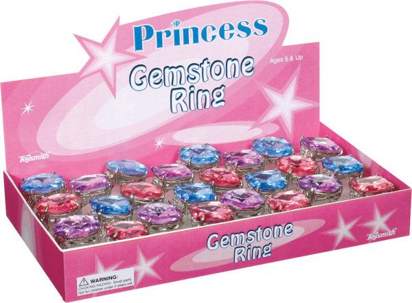 PRINCESS GEMSTONE RING