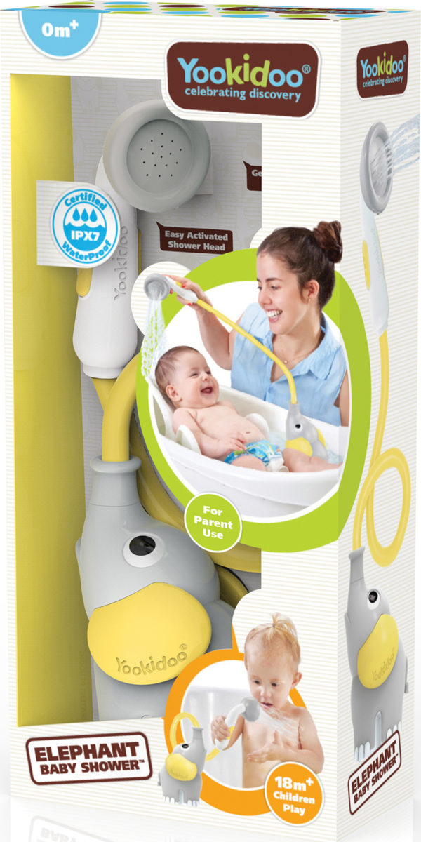 Elephant Baby Shower - Yellow