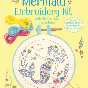 Embroidery Kit, Mermaid (Ir)