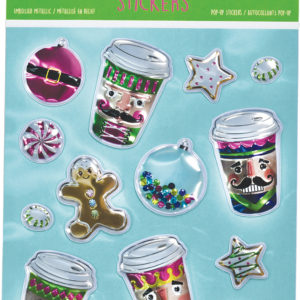 Nutcracker Pop-Up Stickers