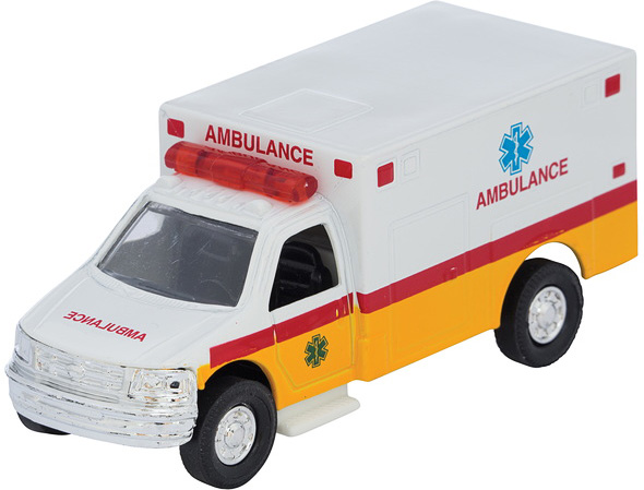 Diecast Ambulance