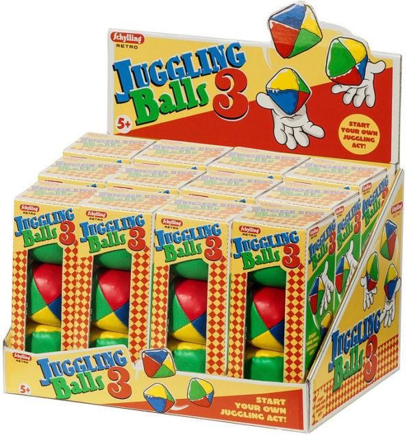 Retro Juggling Balls