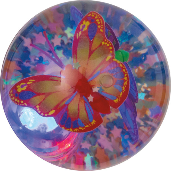 Light Up Butterfly Water Ball