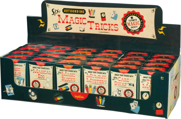 SIX MAGIC TRICKS