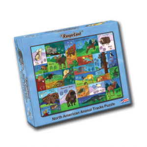 Animal Tracks Puzzle