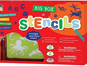 Big Box of Stencils- Red Box