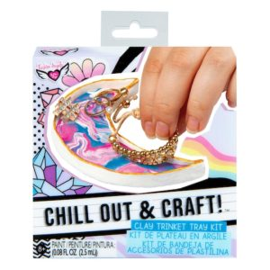Chill Out & Craft Trinket Tray Kit