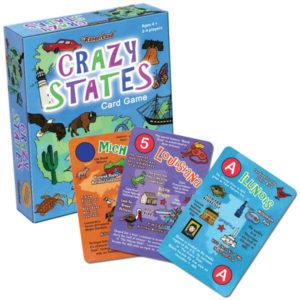 Crazy States Game