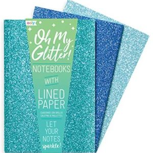 Glamtastic Glitter Notebooks Blue