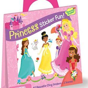 Princess Sticker Reuasble Tote