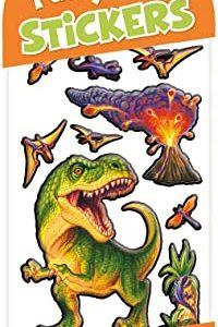 Puffy Prehistoric Dinosaur Stickers