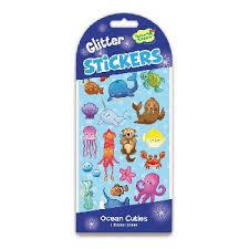 Glitter Underwater Fun Stickers