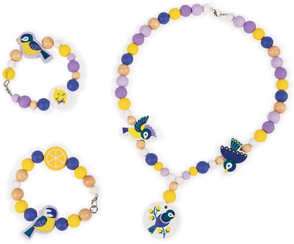 Birdy - Chickadees- 220 Beads