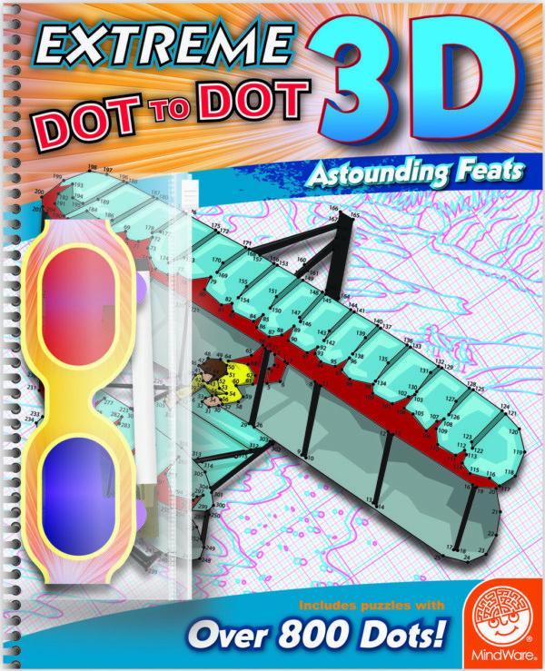 Extreme Dot To Dot 3D: Astounding Feats