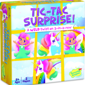 Tic Tac Surprise: Unicorns And Fairies