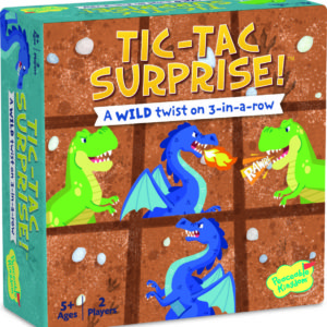 Tic Tac Surprise - Dinos Vs Dragons