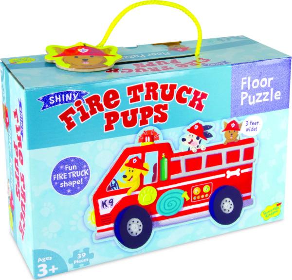 Firetruck Pups Puzzle