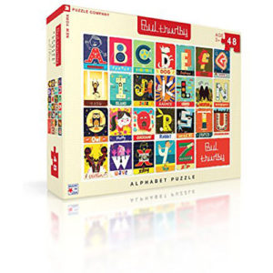 New York Puzzle Company - Paul Thurlby Alphabet - 48 Piece Jigsaw Puzzle