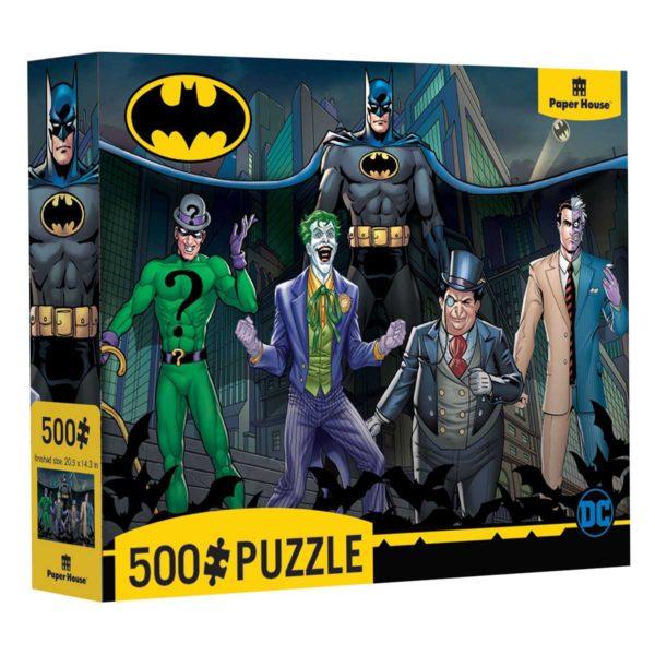 Batman and Villians Puzzle