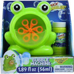 Mini Frog Bubble Machine