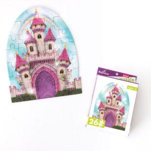 Princess Castle Mini Puzzle