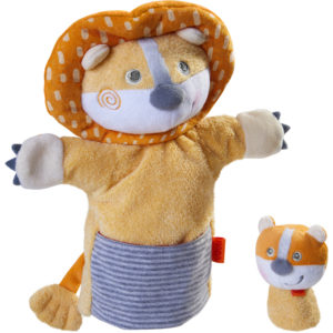 Puppet Lion with Cub