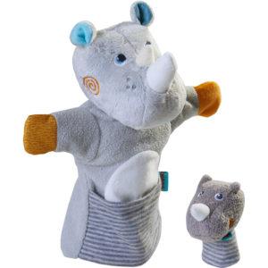 Puppet Rhino with Calf