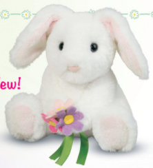 Rosie Bunny With Flowers