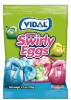 Gummy Swirly Eggs