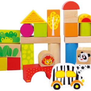 Wooden Blocks Zoo